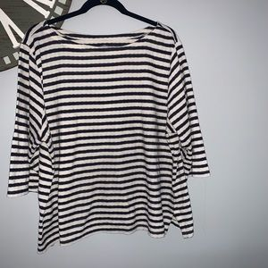 St. Johns Bay striped shirt size 2X